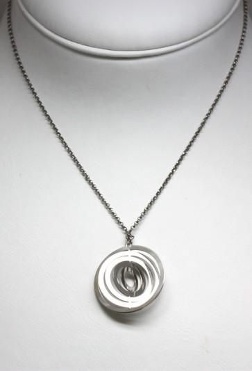 Ciondolo cerchi argento