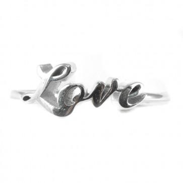 """Anello """"Love"""" in argento"""