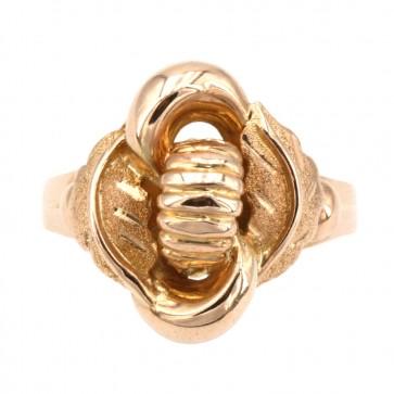 Anello bulle vintage oro