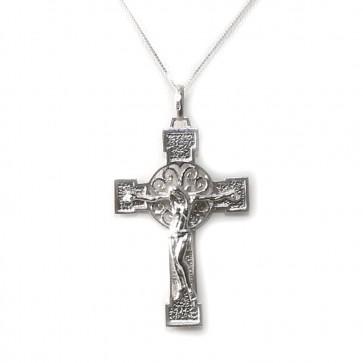 Ciondolo croce Cristo oro - 11,6 gr