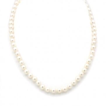 Collana da 44 cm di perle giapponesi