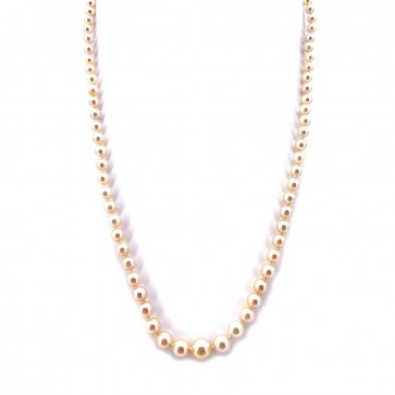 Collana da 49 cm di perle giapponesi