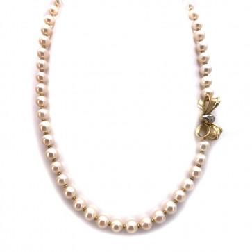 Collana da 47 cm di perle giapponesi