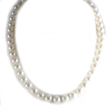 Collana girocollo di perle giapponesi