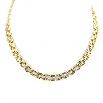 Collana collier Damiani catena con diamanti