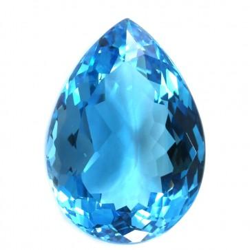 Topazio azzurro, pietra sfusa - 105.6 ct