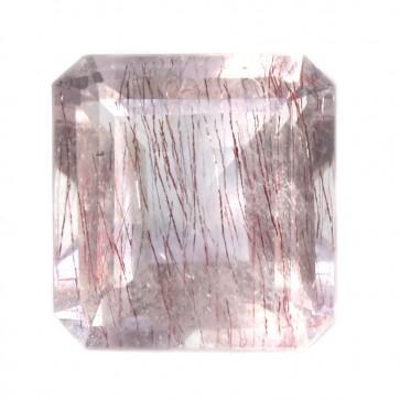 Ametista rutilata, pietra sfusaQuarzo ametista lilla rutilata sfusa