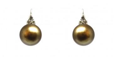 Orecchini oro perle