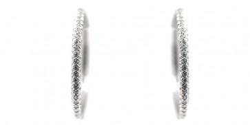 Orecchini ad anelle argento