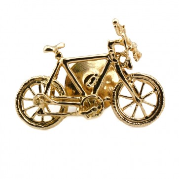 Spilla bicicletta oro - 3.06 gr