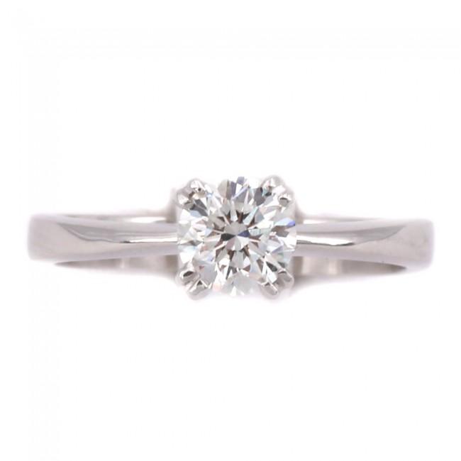 prezzo competitivo 7862e a5592 Anello solitario oro e diamante - 0.82 ct, F VS; 4.33 gr