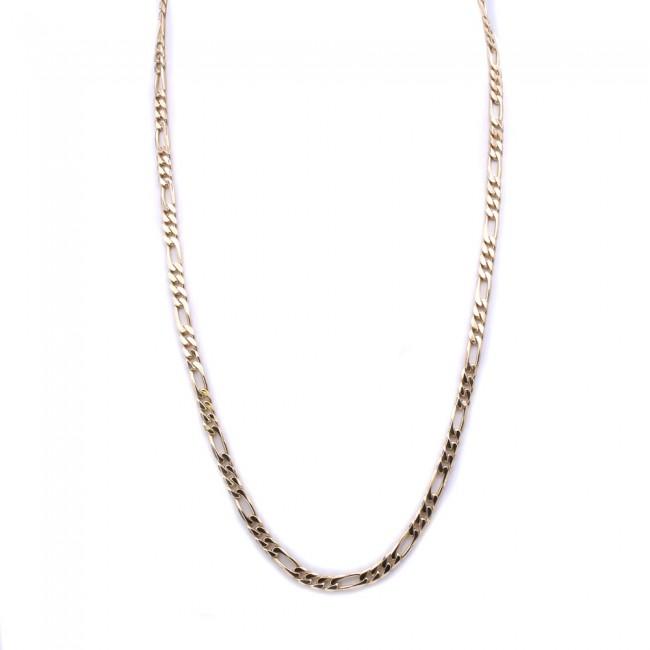 nuova collezione 1bc31 9c4b8 Collana catena uomo oro, maglia 3+1 - 60 cm; 39 gr