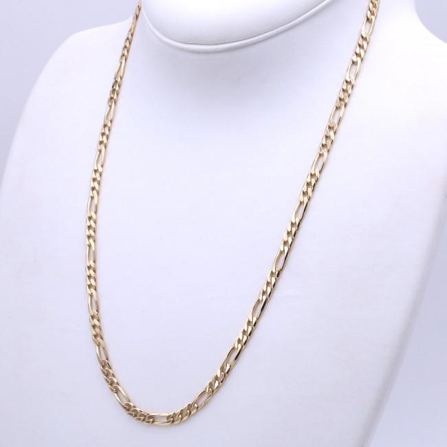 nuova collezione 8dbad a993d Collana catena uomo oro, maglia 3+1 - 60 cm; 39 gr