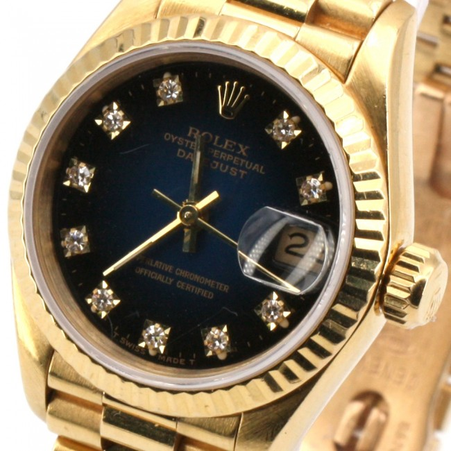 Orologio Rolex Oyster Perpetual Date Just Oro 8570 25 Mm