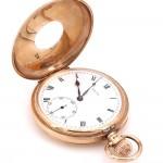 Orologio da tasca Rolex Occhio di Bue d'oro 9 ct -6.8 cm x 5 cm; 97.6 gr