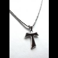 Collana argento con ciondolo croce
