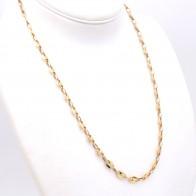 Collana catena uomo oro, maglia marinara massiccia - 64 cm; 43.3 gr
