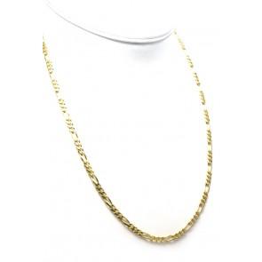 Collana uomo catena groumette argento dorato