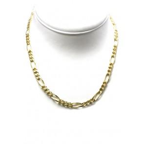 Collana uomo catena grossa groumette argento dorato