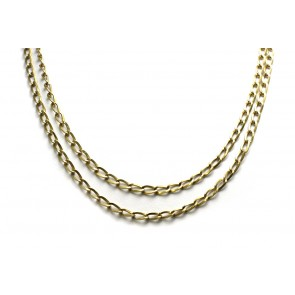Collana catena oro, 1 metro
