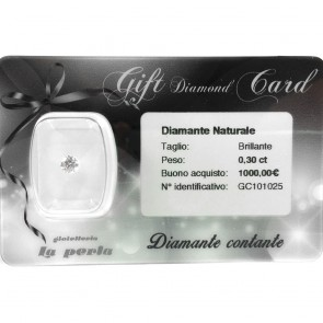 GIFT DIAMOND CARD