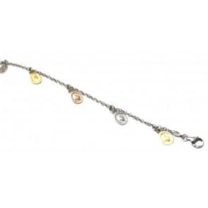 Bracciale argento charms