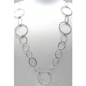 Collana Channel argento