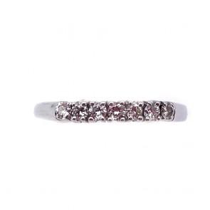 Anello riviera oro e 7 diamanti
