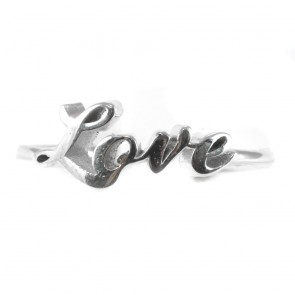 "Anello ""Love"" in argento"