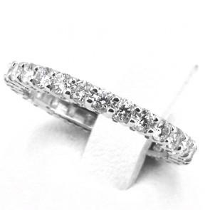 Anello eternel oro e diamanti -1.17 ct; 1.93 gr