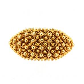 Anello fede sarda oro