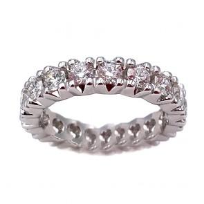 Anello eternel oro e diamanti