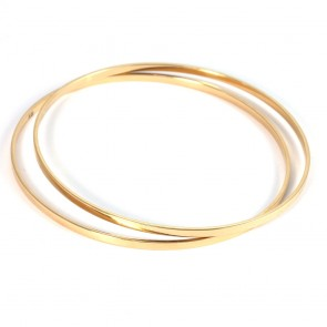 Bracciale bangle a cerchio rigido