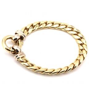 Bracciale catena maxi groumette, oro