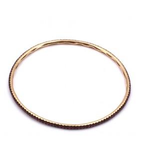 Bracciale rigido Pippo Perez oro e rubini -2.54 ct- 9.26 gr