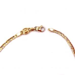 Bracciale uomo catena maglia marinara, oro - 5.86 gr. 21 cm x 0.3 cm