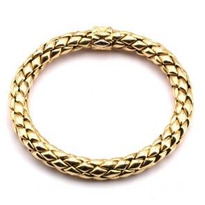 Bracciale Chimento modello Stretch catena maglia oro giallo, spessore 0.8 cm. 22 cm - 36.19 gr