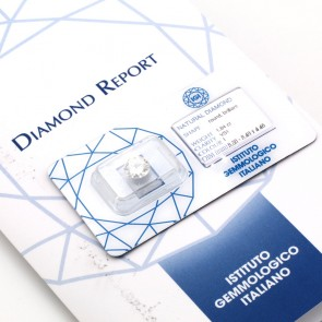 Brillante certificato IGI. ct 1.84; I-VS1