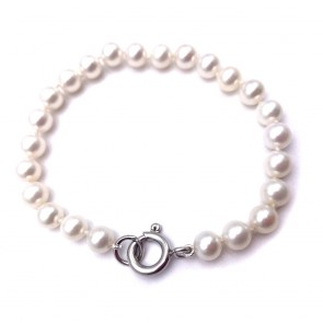Bracciale da 20 cm di perle giapponesi