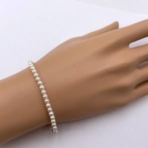 Bracciale da 17.5 cm di perle