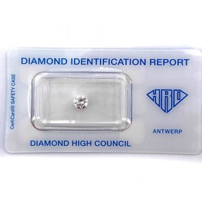 Brillante certificato HRD