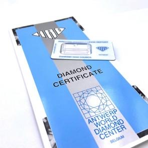 Brillante certificato HRD. ct 0.55; G-IF