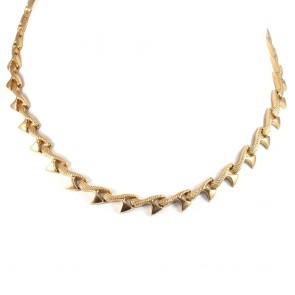 Collana collier catena vintage oro -  42 cm