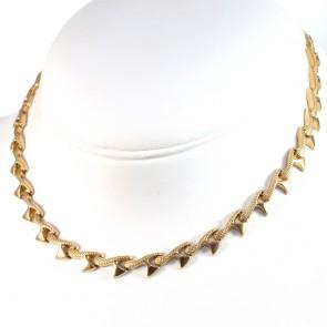 Collana collier catena vintage oro -  42 cm; 22.78 gr