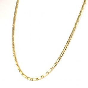 Collana catena uomo oro, maglia classica - 52 cm; 32.3 gr