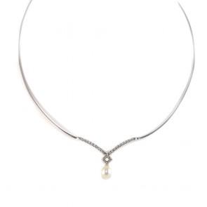 collana/collier oro,  perla