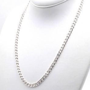 Collana uomo groumette argento - 60 cm; 44.9 gr