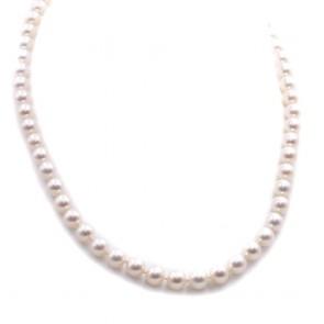 Collana da 50 cm di perle