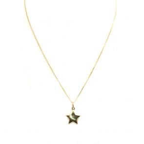 Ciondolo stella oro giallo - 1.55 gr; 2.4 cm