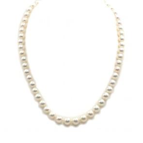 Collana da 46 cm di perle giapponesi